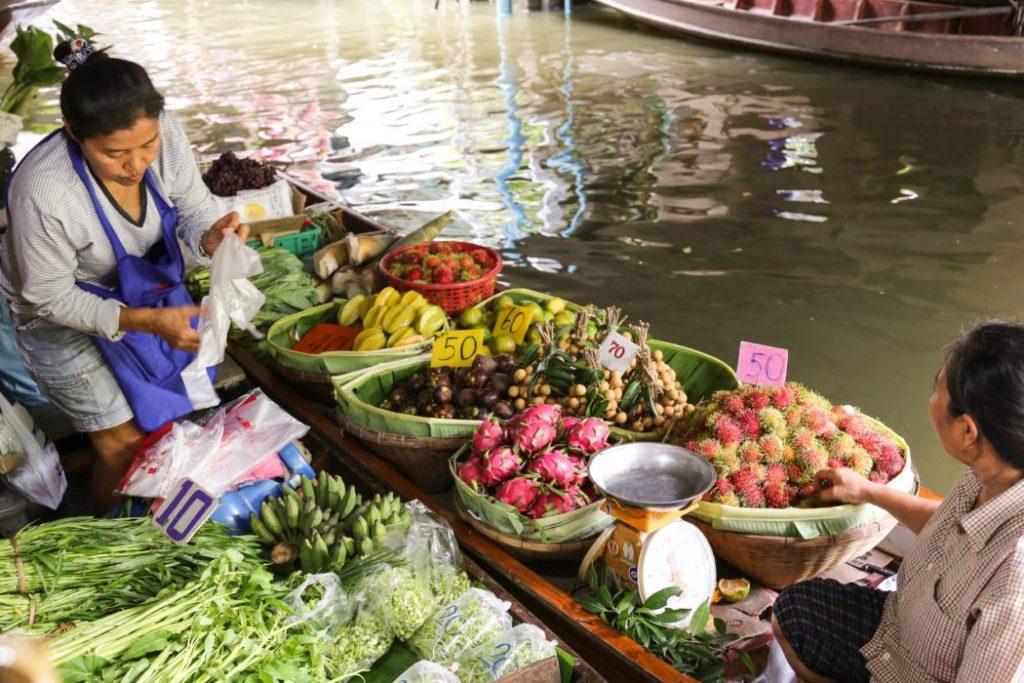 Những ngôi chợ nổi tiếng tại Thái Lan 5