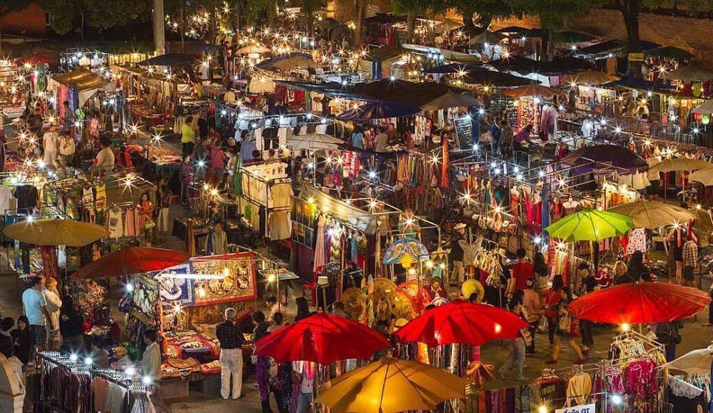 Những ngôi chợ nổi tiếng tại Thái Lan không nên bỏ qua - Chợ đêm Chiang Mai