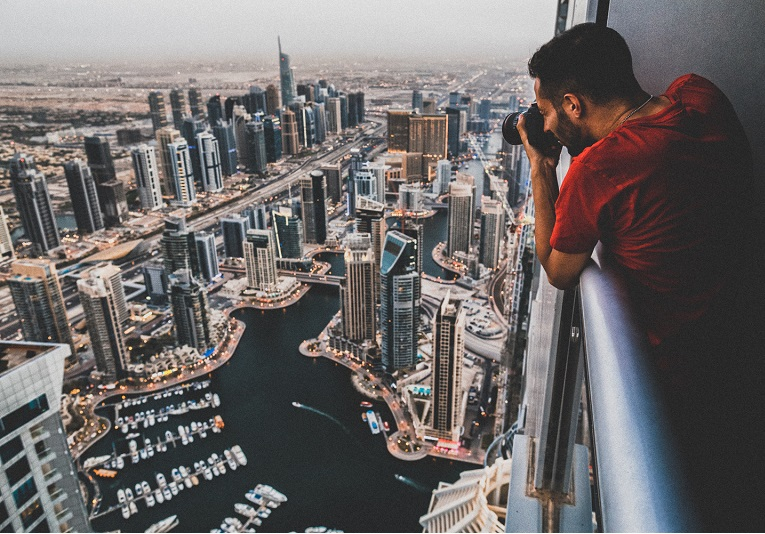 Du lịch Dubai lễ 30/4 du khách cũng lưu ý khi chụp ảnh.