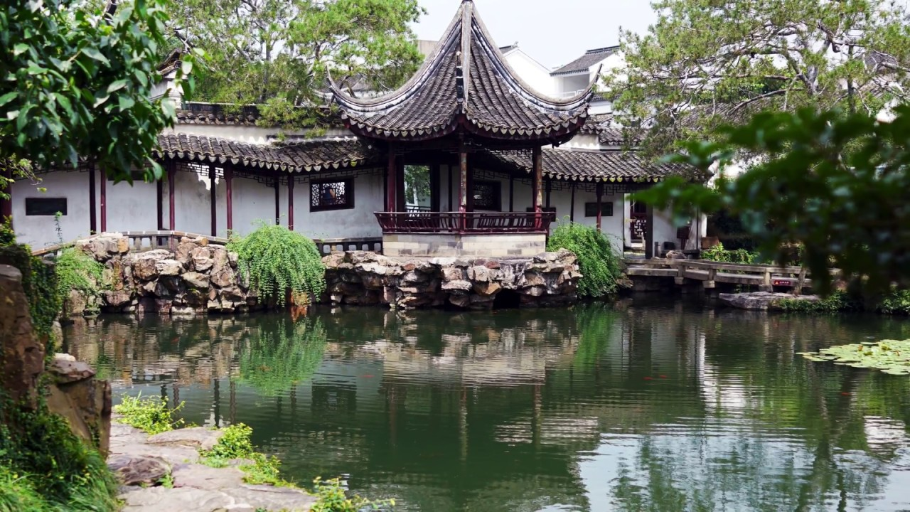 Lâm viên cổ ở Tô Châu - Hàng Châu