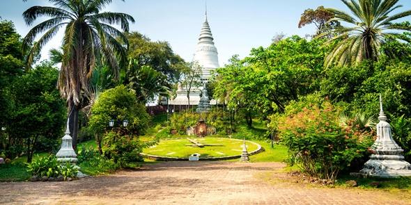 kham pha phnom penh wat phnom