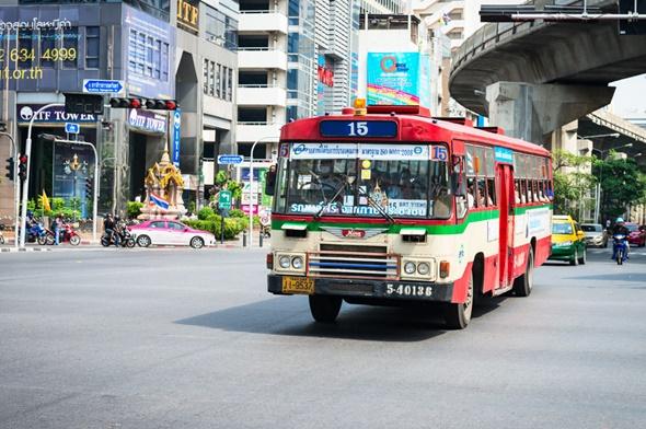nhung phuong tien giao thong pho bien tai thai lan bus