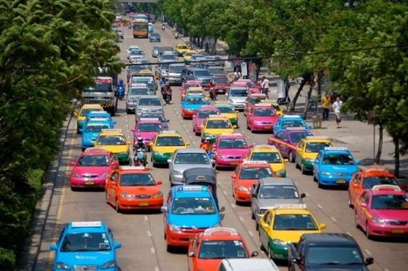 nhung phuong tien giao thong pho bien tai thai lan taxi