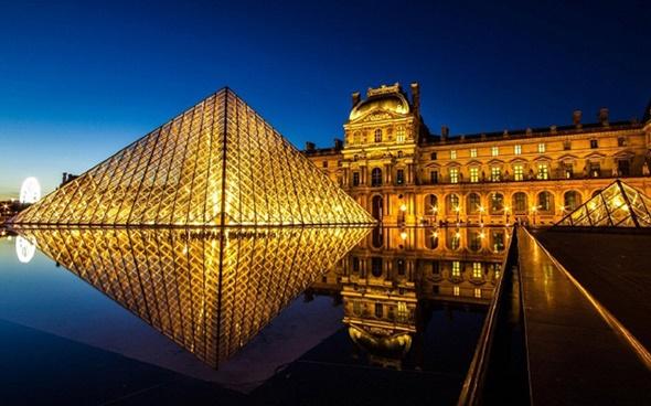 Những điểm check in không nên bỏ qua tại Paris - Bảo Tàng Louvre