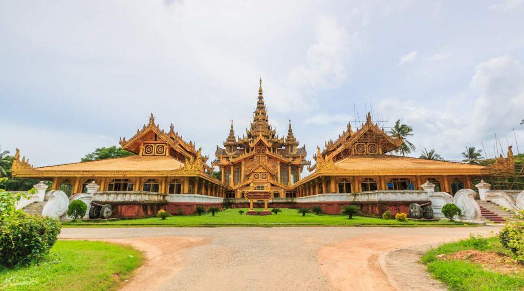 Du lịch Myanmar: Khám Phá Cung điện Hoàng gia Kanbawzathadi ở Bago - ảnh 1