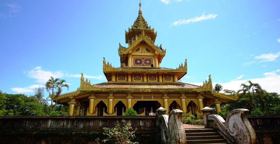 Du lịch Myanmar: Khám Phá Cung điện Hoàng gia Kanbawzathadi ở Bago - ảnh 11