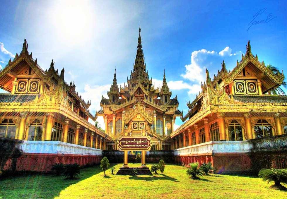 Du lịch Myanmar: Khám Phá Cung điện Hoàng gia Kanbawzathadi ở Bago - ảnh 2