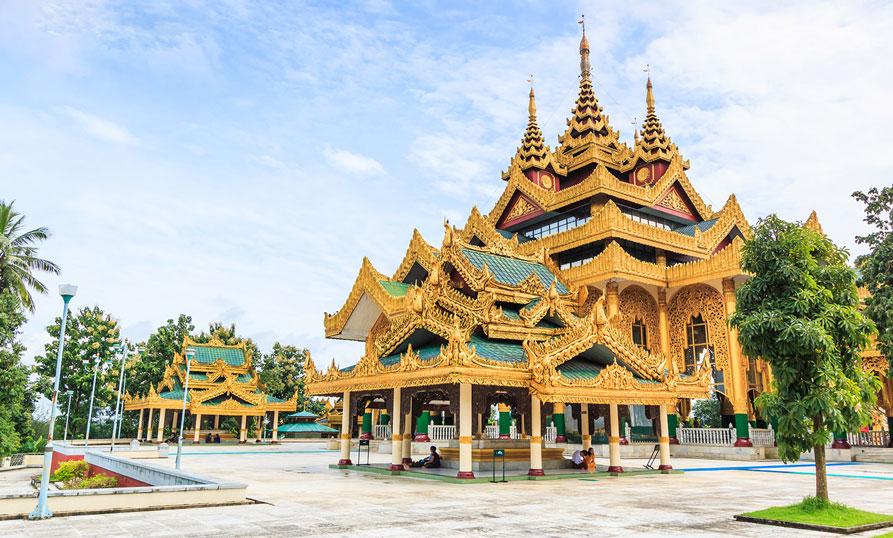 Du lịch Myanmar: Khám Phá Cung điện Hoàng gia Kanbawzathadi ở Bago - ảnh 3